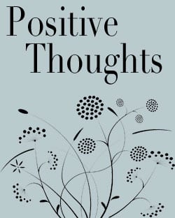 Build Sef Esteem with Positive Thoughts