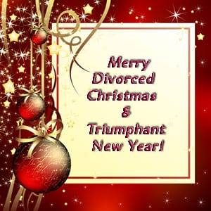 Well wishes for the holidays and new year when dealing with the trauma of divorce