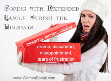 Coping with Extended Family During the Holidays