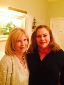 Dr. Nancy with Actress Kathleen Turner