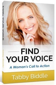 Tabby Biddle Book Find Your Voice