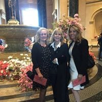 Maggi Castrey, Dr. Nancy O'Reilly, Jen Dethro at The National Gallery of Art
