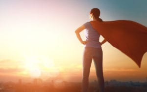 Hey Superwoman, Where's Your Cape?