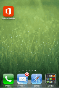 Office Mobile for iOS crashes
