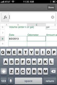 Numerical input uses the wrong keyboard
