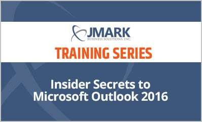 Insider Secrets to Microsoft Outlook 2016