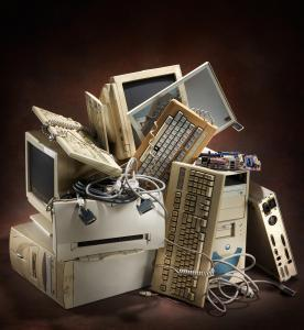 Neglected cybersecurity old computers