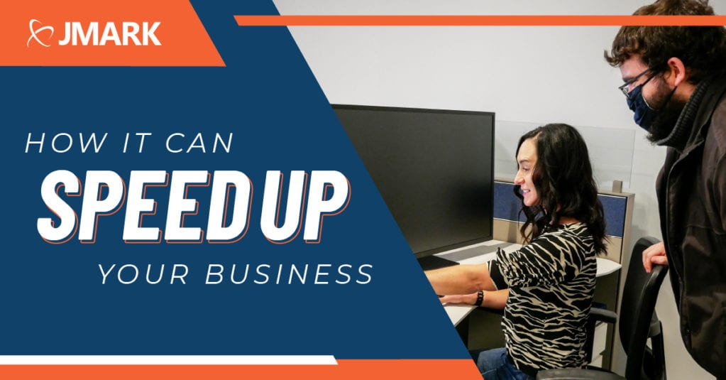 How IT Can Speed Up Your Business - Blog Graphic