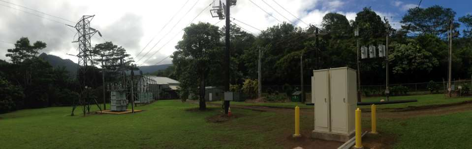 "Kauai Electric Coop - Two 78"" Modular Units connected with a Joining Collar option for an electrical coop industry."
