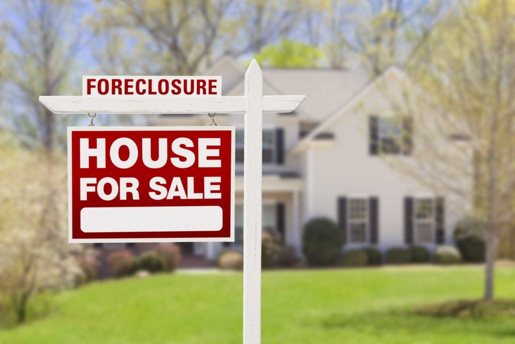 House of someone who experienced bankruptcy and foreclosure for sale